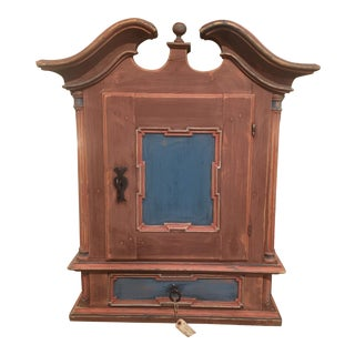 19th Century Antique Swedish Cabinet For Sale