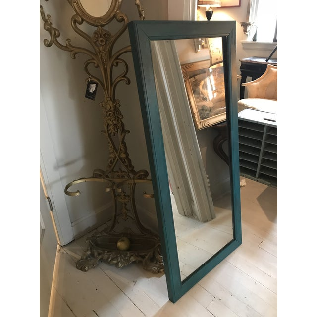 Cottage Cottage Chic Distressed Mirror For Sale - Image 3 of 5