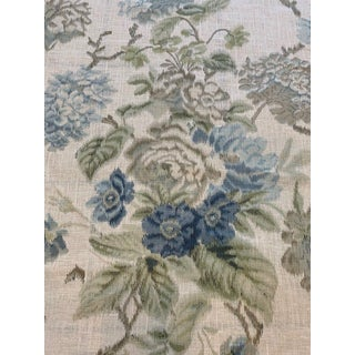 Lee Jofa Chelverton Blithfield Linen Fabric- 2 Yards For Sale