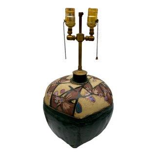 Camille Billops Flower Basket Table Lamp Sculpture