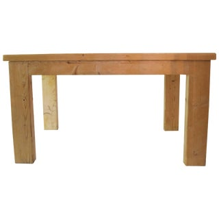 Jean Prouvé With Guy Rey-Millet Dining Room Table, Refuge De La Vanoise For Sale