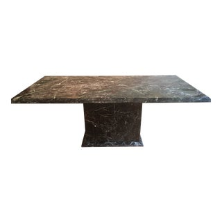 1980s Italian Marble Conference Table