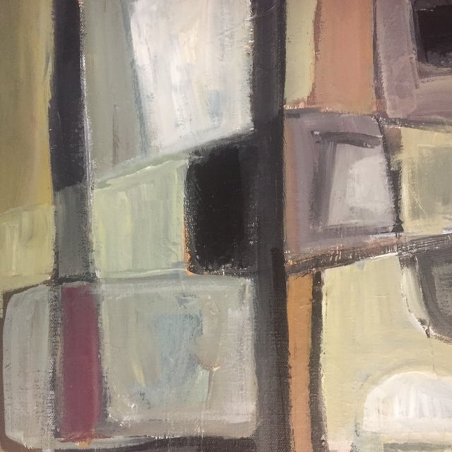 Original Stewart Ross Abstract Painting For Sale - Image 4 of 6