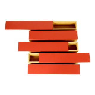 Horizontals Wall Shelf by Shigeru Uchida for Pastoe - Set of 5 For Sale