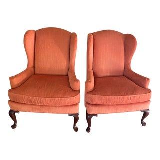 Vintage Queen Anne Coral Chairs - a Pair For Sale