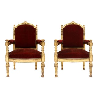 Pair of King Chairs