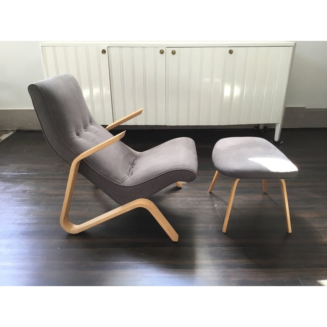 "Sit back and relax! Saarinen's model 61 ""Grasshopper "" chair was the first lounge chair he designed for Knoll in 1946...."