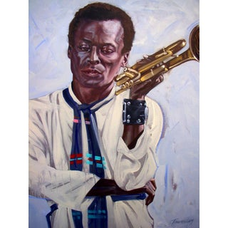 """""""Miles Davis"""" by Tim Townsley (1944 - 2018) For Sale"""