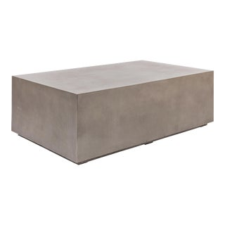 Zoey Coffee Table, Dark Grey For Sale
