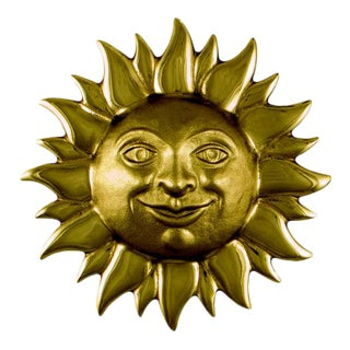 Smiling Sunface Door Knocker