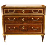 Image of French Louis XVI-Style Chest of Drawers For Sale