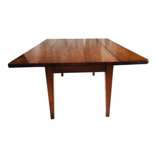 Farmhouse Low Country Pine Coffee Table W/ Drop Leaves For Sale