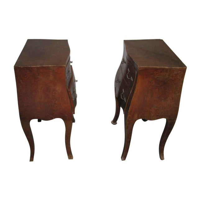 Empire Bed Side Tables - A Pair For Sale - Image 4 of 9