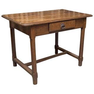 Late 18th Century Antique Oak Desk For Sale