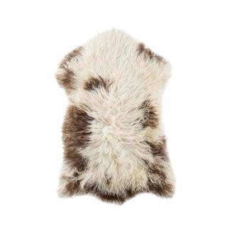 "Hand-Tanned Sheepskin Pelt Rug - 1'10""x2'10"" For Sale"