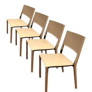 Greutmann Bolzern Dining Designer Chairs - Set of 4 For Sale