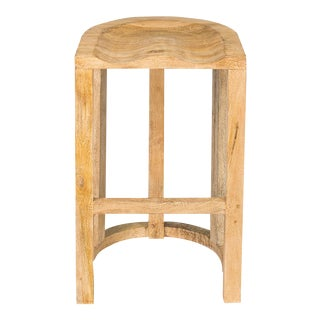 Sarreid LTD Wood Tractor Seat Bar Stool