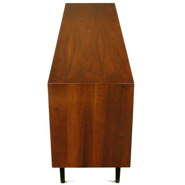 Rosewood and Walnut Parquetry Front Credenza - Image 4 of 8
