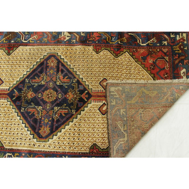 1920s Vintage Persian Malayer Design Rug - 3′5″ × 12′ For Sale - Image 9 of 10