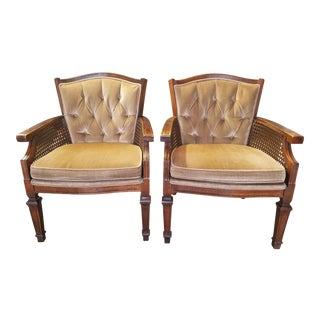 Mid-Century Arm Chairs- A Pair For Sale