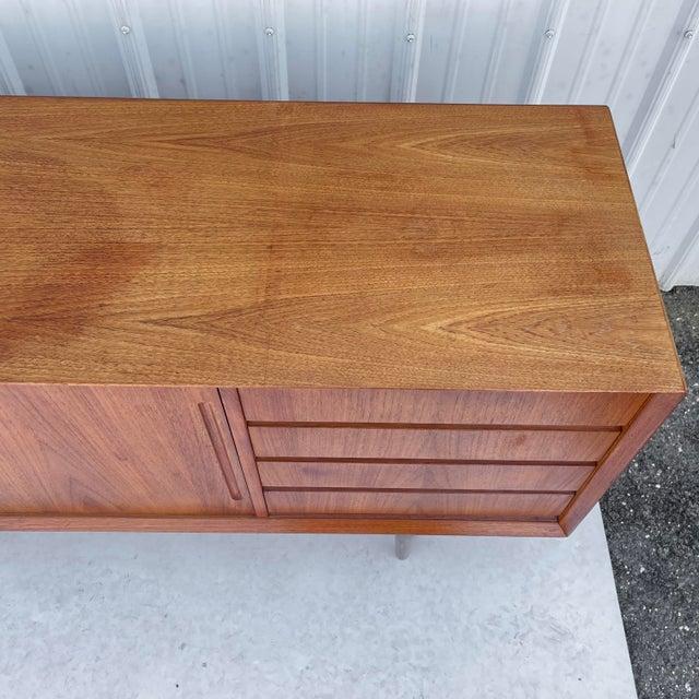 Mid-Century Modern Teak Sideboard Attr. Jens Quistgaard for Løvig For Sale - Image 9 of 13
