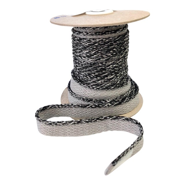 """Braided 1/8"""" Indoor-Outdoor Gray Cord Trim For Sale"""