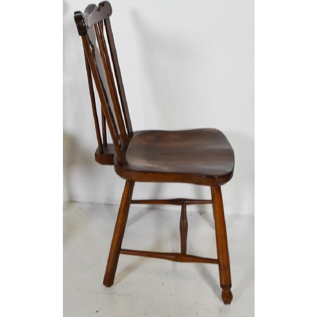 Mission 1950s Vintage L.& j.g. StickLey Dining Room Chairs - Set of 6 For Sale - Image 3 of 12