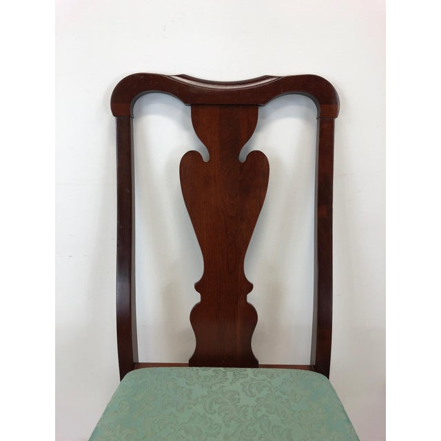 Pennsylvania House Solid Cherry Queen Anne Dining Side ...