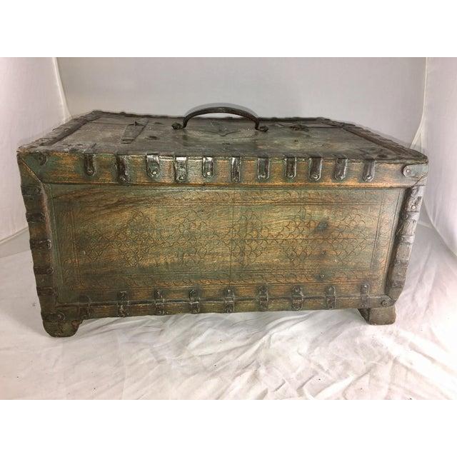 19 Century Oriental Cashbox For Sale - Image 5 of 10