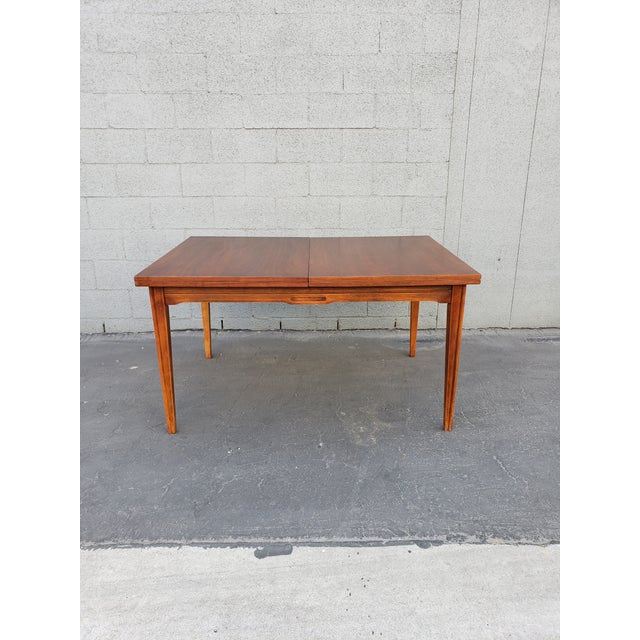 Mid-Century Modern Mid Century Morriss Dining Set - 7 Pieces For Sale - Image 3 of 5