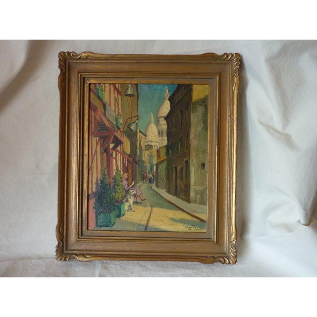 Scenes of Paris Oil Paintings - A Pair - Image 3 of 7