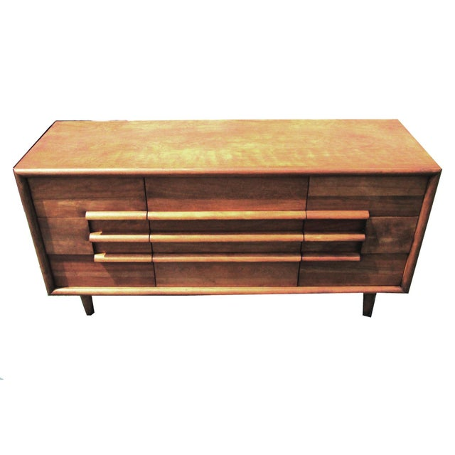 Furniture Guild of California Walnut Dresser - Image 1 of 8