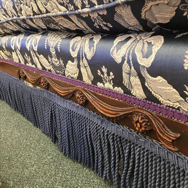 Vintage Victorian Fringe Sofa - Image 6 of 11