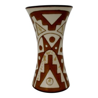 Peruvian Pottery Vase For Sale