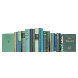 Gardening Blues Book Set, (S/20) For Sale