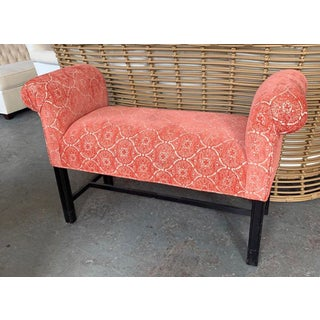 Late 20th Century Upholstered Coral Bench Preview