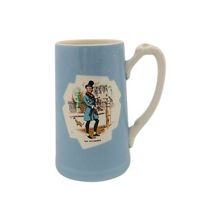 1950s Bass Brewing Company Dickens Pint Mug For Sale