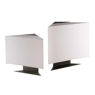 "Pair of ""Accademia"" Table Lamps by Cini Boeri For Sale"