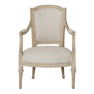 Swedish Gustavian Original Paint Armchair by Johan Erik Höglander For Sale