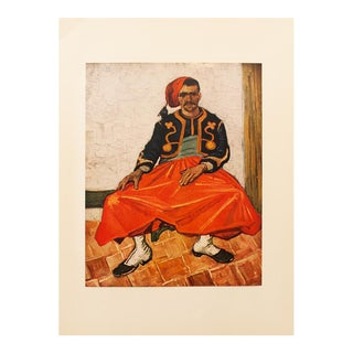 "1950s Van Gogh, First Edition Lithograph ""The Zouave"" For Sale"