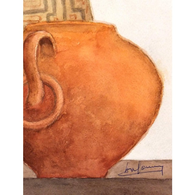 Original Watercolor Painting by Henri Gommers - Image 2 of 4
