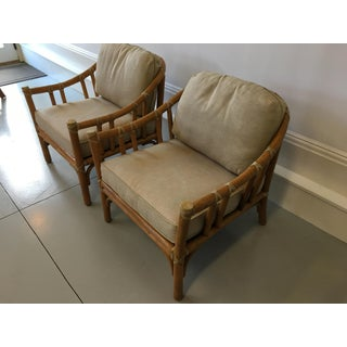 Vintage McGuire Bamboo Chairs - a Pair Preview