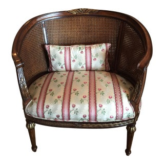 Cane & Upholstery Chair