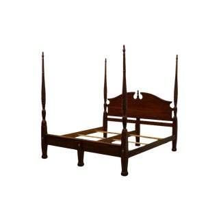 Cresent Furniture Cherryvale Collection Solid Cherry King Size Four Poster Rice Bed For Sale