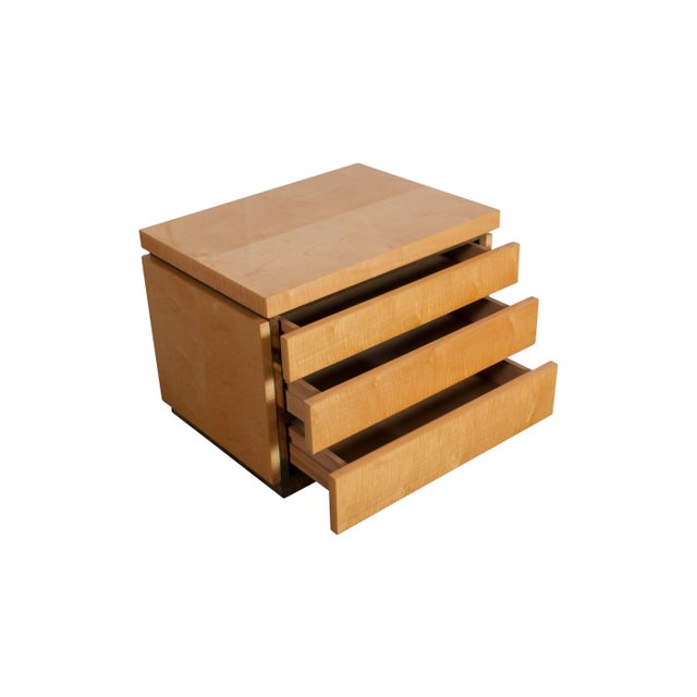 Jean Claude Mahey Bed Side Tables For Sale - Image 6 of 7