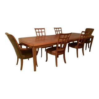 Henredon Maple Dining Set For Sale