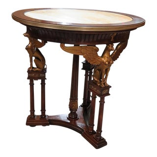 Russian Empire Style Center Table