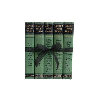 Vintage Decorative Book Gift Set: Greatest Short Stories For Sale