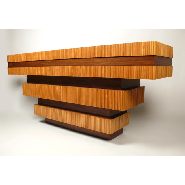 Dowel Console Table For Sale - Image 5 of 10