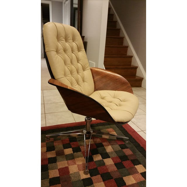 George Mulhauser Plycraft Mid-Century Mrs. Chair - Image 6 of 7